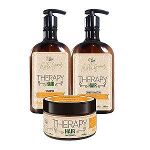 Kit de Tratamento Milla Gomes Therapy Hair Shampoo + Condicionador + Máscara