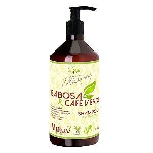 Shampoo Babosa e Cafe Verde Fortificante 500ml - Milla Gomes