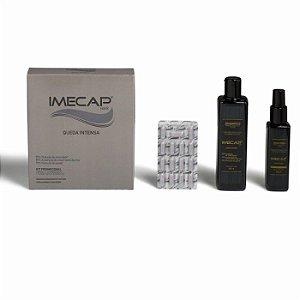 Kit Imecap Hair Queda Intensa Shampoo + Loção + 30 caps
