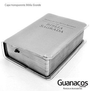GRANDE  - capa para BÍBLIA NW | PVC Cristal