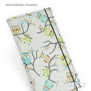 Porta Folhetos - Corujinha