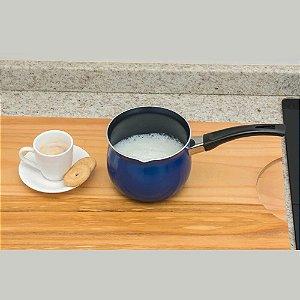 Mini Leiteira Antiaderente - Saldo sem Troca -Fiss Koss-Azul
