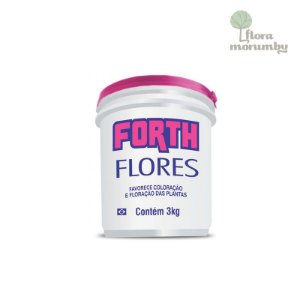 ADUBO FORTH FLORES 3 KG