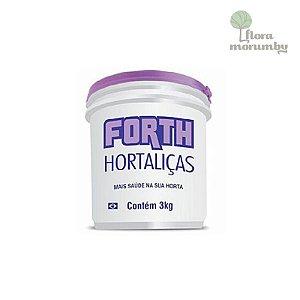ADUBO FORTH HORTALICAS 3KG