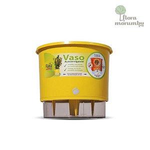 VASO AUTOIRRIGAVEL N4 - AMARELO