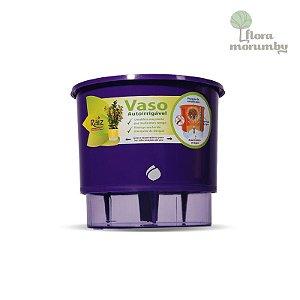 VASO AUTOIRRIGAVEL N4 - ROXO