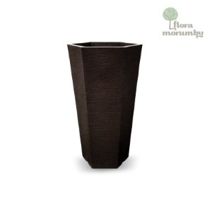 VASO EUROPA HEXAGONAL JVEHK40 - CAFE