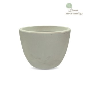 VASO VERONA 60X45CM ANTIQUE BRANCO