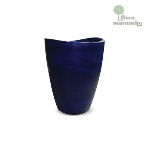 VASO COPACABANA ALTO 40X80CM ANTIQUE AZUL