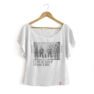 Camiseta Feminina Marvel Guardiões das Galáxias - Prisioneiros