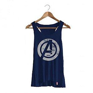 Camiseta Feminina Marvel Vingadores Era de Ultron - Logo