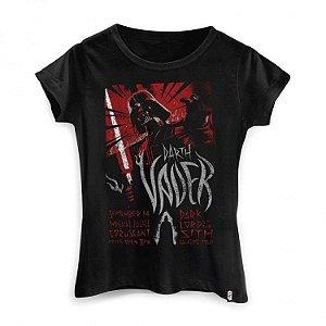 Camiseta Feminina Star Wars - Tour Vader