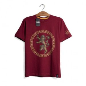 Camiseta Game of Thrones - Casa Lannister