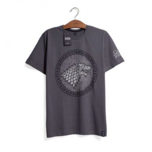 Camiseta Game of Thrones - Casa Stark