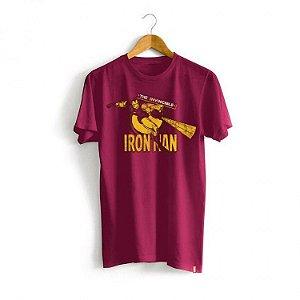 Camiseta Marvel - Invencível Homem de Ferro