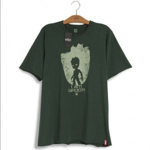 Camiseta Marvel Guardiões da Galáxia Baby Groot Vol. 2