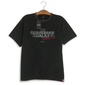 Camiseta Marvel Guardiões da Galáxia Logo Vol. 2