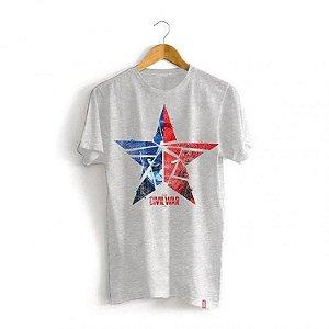 Camiseta Marvel Guerra Civil - Estrela
