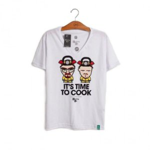 Camiseta Sony Breaking Bad - It's Time to Cook