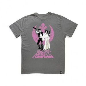 Camiseta Star Wars - Han e Leia