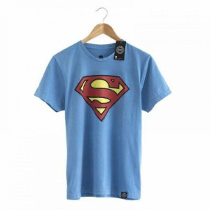 Camiseta Superman Vintage - Coleção Sheldon The Big Bang Theory