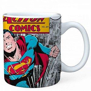 Caneca New DC - Superman Action