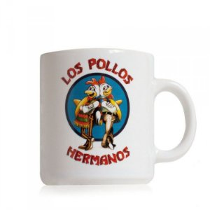 Caneca Sony Breaking Bad - Los Pollos Hermanos Branca