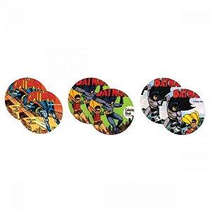 Porta Copos DC - Batman e Robin (jogo com 6 unidades)