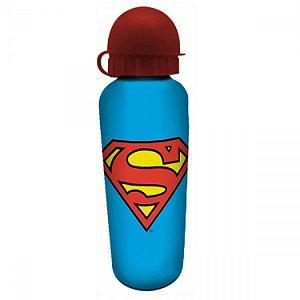 Squeeze de Alumínio DC - Superman Logo Azul