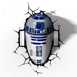 Luminária Star Wars - R2-D2