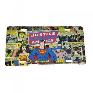 Placa de Metal DC - Superman Comics