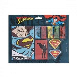 Bloco de Notas com Adesivo DC - All Kinds of Superman