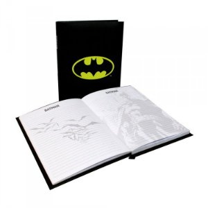 Caderno com Luz - Batman