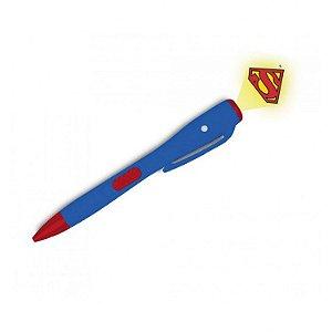Caneta com luz Super-Homem DC Comics