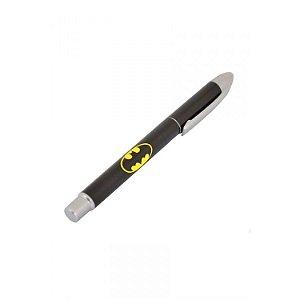 Caneta Plástica Esferográfica Logo Batman