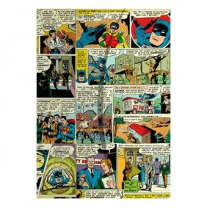 Pasta L Plástica Quadrinhos DC Comics Color