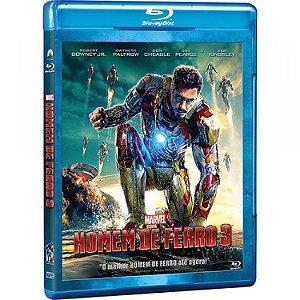 Blu Ray Homem de Ferro 3