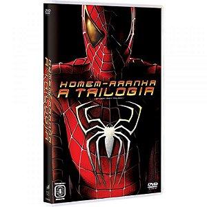 Box DVD Homem Aranha - A Trilogia
