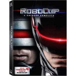 Box DVD Robocop - Quadrilogia