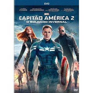 DVD Capitão América 2: O Soldado Invernal