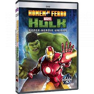 DVD Homem de Ferro e Hulk: Super-Heróis Unidos