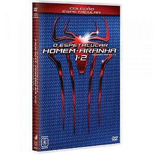 DVD O Espetacular Homem Aranha 1 e 2