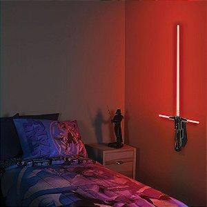 Luminária Sabre de Luz Kylo Ren