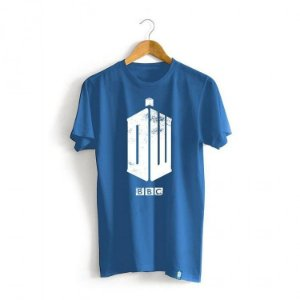 Camiseta Doctor Who - Logo