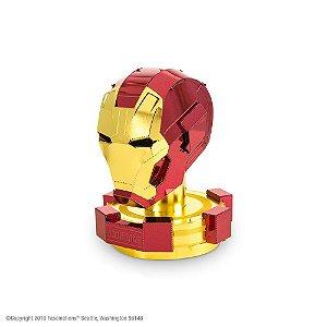 Mini Réplica de Montar Marvel Capacete Homem de Ferro