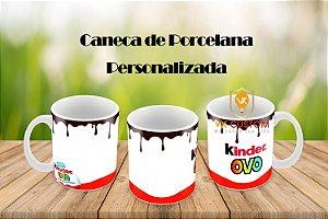 Kinder OVO Caneca de Porcelana Personalizada