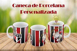 São Paulo Caneca de Porcelana Personalizada
