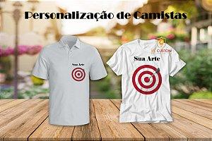 Personalização de Camisetas para Eventos ou uniforme.
