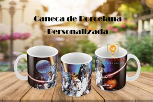 Caneca Star Wars de Porcelana