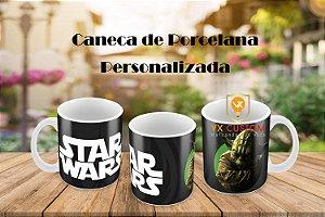Caneca Star Wars de Porcelana Personalizada